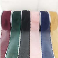 Polyester Ribbon, different size for choice, more colors for choice, Sold By Lot