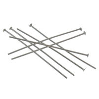 Stainless Steel Headpins, different size for choice, original color, 10000PCs/Bag, Sold By Bag