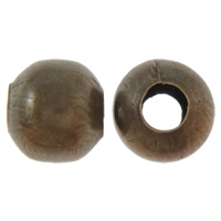 Iron Jewelry Beads, Drum, antique copper color plated, nickel, lead & cadmium free, 10mm, Hole:Approx 4mm, Approx 300PCs/Bag, Sold By Bag