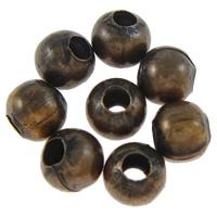 Żelazne koraliki, żelazo, Bęben, Platerowane kolorem starej miedzi, bez zawartości niklu, ołowiu i kadmu, 4x4mm, otwór:około 1mm, około 1660komputery/torba, sprzedane przez torba