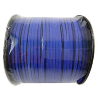 Velveteen Cord with plastic spool hyacinthine 3x1.5mm 100Yard/Spool