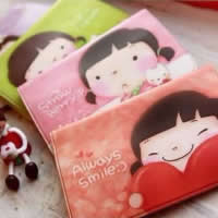 Искусственная кожа Пакет для карточки, разнообразный, 100x70mm, 30ПК/Лот, продается Лот