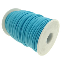 Elastic Thread, Nylon, blue, 4mm, Length:Approx 20 m, Sold By PC