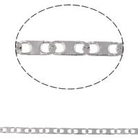 Łańcuch ze stali nierdzewnej Valentino, Stal nierdzewna, Valentino łańcucha, oryginalny kolor, 4.50x1.90x0.30mm, 10m/torba, sprzedane przez torba