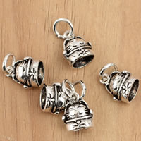 Thailand Sterling Silver Pendants, Cat, 8x13.90x6.20mm, Hole:Approx 3mm, 10PCs/Bag, Sold By Bag