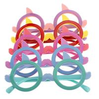 канифоль Оправа для очков, для детей, Много цветов для выбора, 135x61.5x4.5mm, 8mm, отверстие:Приблизительно 140mm, 5Ящики/Лот, 12ПК/Box, продается Лот