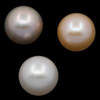 Koraliki z pereł hodowlanych słodkowodnych bez otworu, Perła naturalna słodkowodna, Koło, Naturalne, dostępnych więcej kolorów, klasy AAA, 12-13mm, sprzedane przez PC
