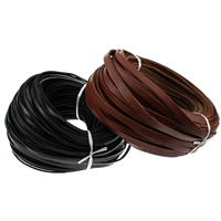 Cowhide Cord, more colors for choice, 10x2.50mm, 50m/Lot, Sold By Lot
