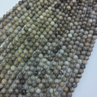 Silver Leaf Jasper Beads, Round, different size for choice, Sold Per Approx 15 Inch Strand