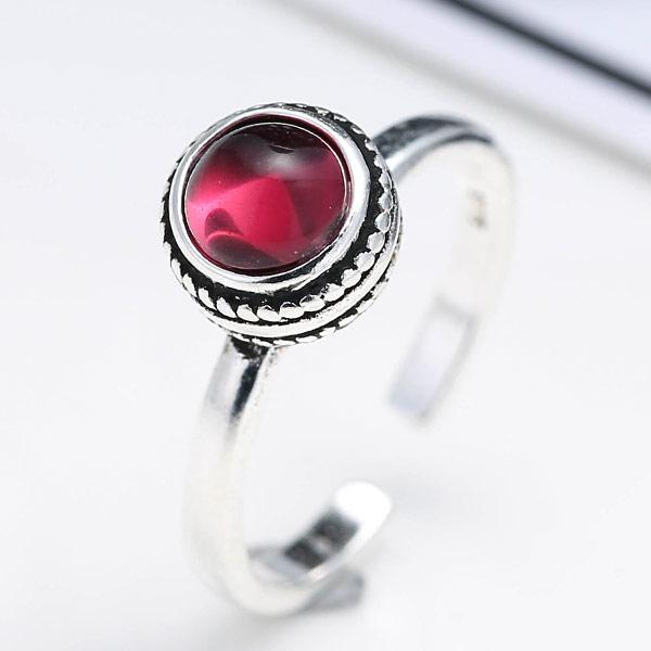 Латунь Манжеты палец кольцо, с Кристаллы, плакированный цветом под старое серебро, не содержит никель, свинец, размер:6-10, продается PC