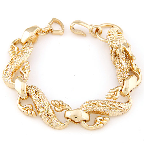 Дизайн браслета из золота