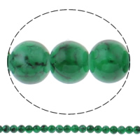 Fashion Glass Beads, Round, more colors for choice, 8mm, Hole:Approx 1mm, Length:Approx 31.5 Inch, 10Strands/Bag, Approx 105PCs/Strand, Sold By Bag