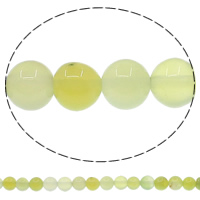 Natural Green Agate Beads, Round, 4mm, Hole:Approx 1mm, Length:Approx 15 Inch, 10 Strands/Lot, Approx 93PCs/Strand, Sold By Lot
