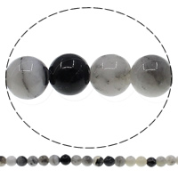 Manchurian Agate Bead, Round, 8mm, Hole:Approx 1mm, Length:Approx 15.3 Inch, 10Strands/Lot, Approx 48PCs/Strand, Sold By Lot