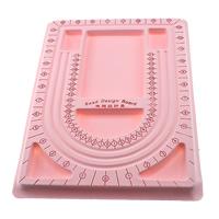 Планшеты для дизайна украшений, пластик, Прямоугольная форма, с вельвета покрытые, розовый, 238x325mm, 20ПК/сумка, продается сумка