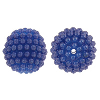 Plastic Beads Round disassembly and assembly   solid color 20mm Hole:Approx 2mm 100PCs/Bag