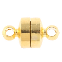 Brass Magnetic Clasp plated single-strand nickel lead   cadmium free 12x6mm Hole:Approx 1mm 10PCs/Bag