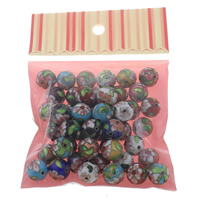 Cloisonne Beads, handmade, mixed, 14x14mm, Hole:Approx 2mm, 50PCs/Bag, Sold By Bag