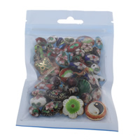 Cloisonne Beads, handmade, mixed, 9-20mm, Hole:Approx 2mm, Approx 45PCs/Bag, Sold By Bag