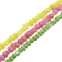 Gemstone Beads, Chips, different size for choice, more colors for choice, Hole:Approx 1mm, Length:Approx 35.4 Inch, Sold By Bag