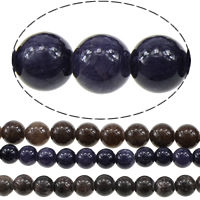 Dyed Marble Beads Round Hole:Approx 1mm Length:Approx 16 Inch