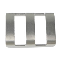 Stainless Steel Findings Rectangle original color 19x14x4mm 100PCs/Lot