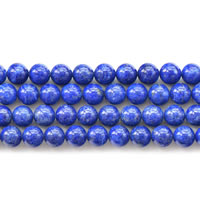 Natural Lapis Lazuli Beads, Round, different size for choice, Grade AA, Sold Per Approx 15 Inch Strand
