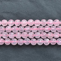 Natural Rose Quartz Beads, Flower, different size for choice, Length:Approx 15 Inch, Sold By Lot