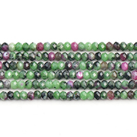 Ruby in Zoisite Beads, natural, different size for choice & faceted, Grade AAAAA, Sold Per Approx 15 Inch Strand