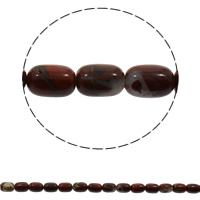Rainbow Jasper Beads, Column, natural, 10x15mm, Hole:Approx 1mm, Approx 28PCs/Strand, Sold Per Approx 16 Inch Strand