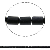 Natural Blue Goldstone Beads, Column, 10x14mm, Hole:Approx 1mm, Approx 28PCs/Strand, Sold Per Approx 15.7 Inch Strand