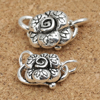 Thailand Sterling Silver S Shape Clasp, Letter S, different size for choice, Sold By Lot