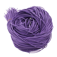 Velveteen Cord, purple, 3x1.50mm, 200Yards/Lot, Sold By Lot