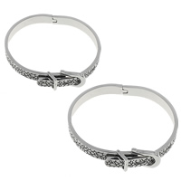 Stainless Steel Bangle, different size for choice & blacken, Sold By PC