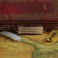 Цирконий Micro Pave стерлингового серебра Разъем, Серебро 925 пробы, Прямоугольная форма, Другое покрытие, инкрустированное микро кубического циркония & 1/1 петля, разноцветный, 7.50x31x2.80mm, отверстие:Приблизительно 1-2mm, 5ПК/Лот, продается Лот