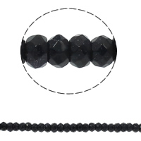 Natural Blue Goldstone Beads, Rondelle, faceted, 8x5mm, Hole:Approx 1.5mm, Approx 75PCs/Strand, Sold Per Approx 15.7 Inch Strand