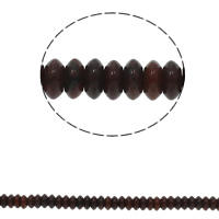 Red Jasper Beads, Flat Round, natural, 6.5x3mm, Hole:Approx 1.5mm, Approx 134PCs/Strand, Sold Per Approx 15.7 Inch Strand