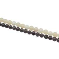 Fashion Glass Beads, Round, different size for choice, more colors for choice, Hole:Approx 1mm, Sold By Bag