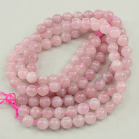 Natural Rose Quartz Beads, Round, different grades for choice, 10mm, Hole:Approx 1mm, Approx 40PCs/Strand, Sold Per Approx 16 Inch Strand
