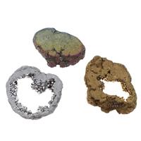 Druzy Koraliki, Agat kwarc lodowy, Naturalne, styl druzy & różnej wielkości do wyboru & bez otworu, dostępnych więcej kolorów, 10komputery/torba, sprzedane przez torba
