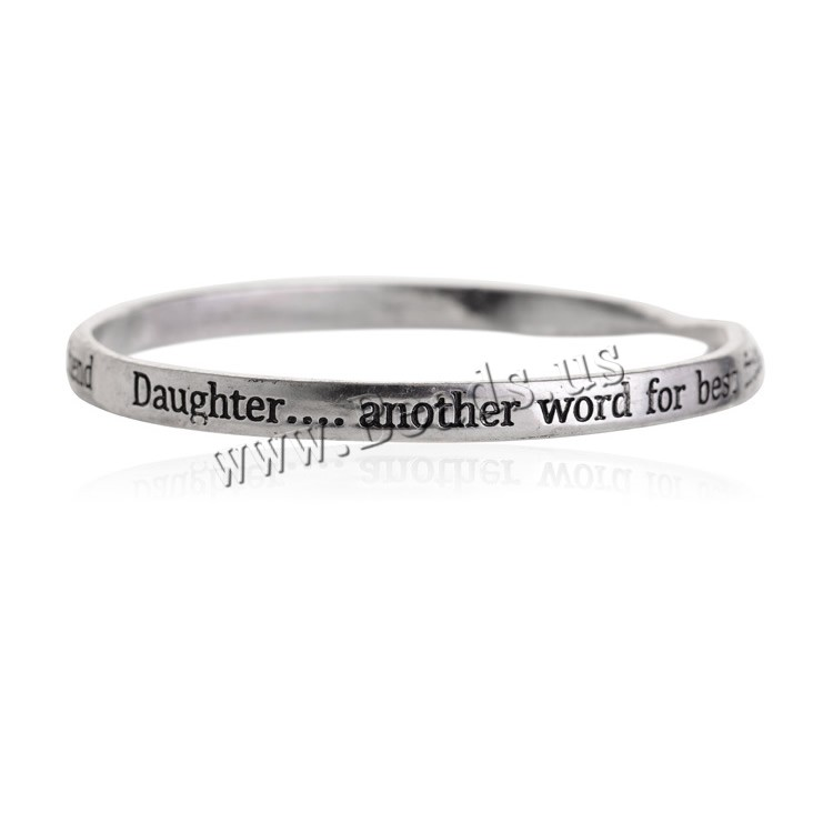 zinc alloy bangle another word for best friend