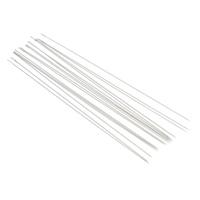 Ijzer Kralen Naald, platinum plated, verschillende grootte voor keus, nikkel, lood en cadmium vrij, 45pC's/Bag, Verkocht door Bag