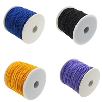 Elastic Thread, with plastic spool, South Korea Imported, more colors for choice, 0.80mm, 85m/PC, Sold By PC