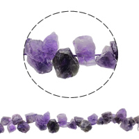 Druzy Beads, Amethyst, natural, February Birthstone & druzy style, 14-20mm, Hole:Approx 1mm, Approx 40PCs/Strand, Sold Per Approx 15.7 Inch Strand