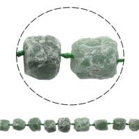 Druzy Koraliki, Kwarc zielony, Naturalne, styl druzy, 16-27mm, otwór:około 1mm, około 16komputery/Strand, sprzedawane na około 16.5 cal Strand