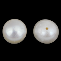 Natural Freshwater Pearl Loose Beads, Potato, white, 7-8mm, Hole:Approx 0.6mm, 10PCs/Bag, Sold By Bag