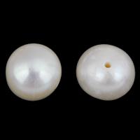 Naturalne perły słodkowodne perełki luźne, Perła naturalna słodkowodna, Ziemniak, biały, 7-8mm, otwór:około 0.6mm, 10komputery/torba, sprzedane przez torba