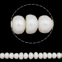 Baroque Cultured Freshwater Pearl Beads, white, 13-14mm, Hole:Approx 0.8mm, Sold Per 15.5 Inch Strand