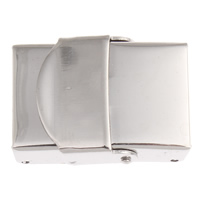 Zapięcie do bransolety zegarka, Stal nierdzewna, oryginalny kolor, 25x18x8mm, otwór:około 15x4mm, 5komputery/torba, sprzedane przez torba
