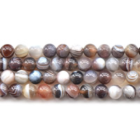 Natural Lace Agate Beads, Round, different size for choice, Hole:Approx 1mm, Sold Per Approx 15.5 Inch Strand